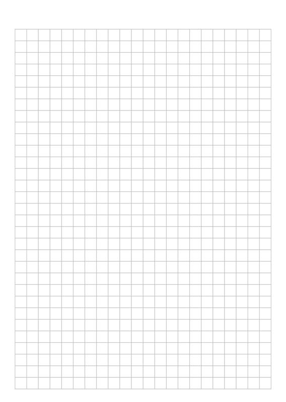 B6 TN Inserts Graph Grid Paper
