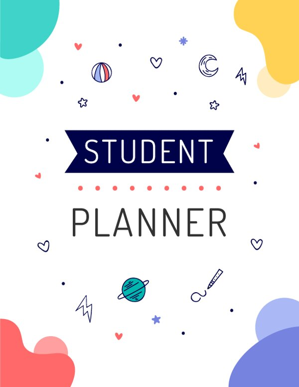 Student Binder Cover Template
