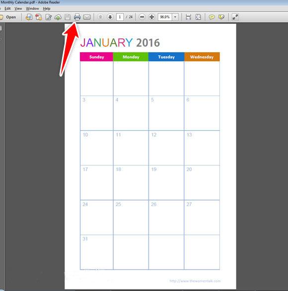Half Size Weekly Planner Printing Tutorial