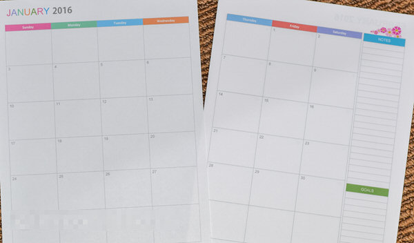 How to print letter size (8.5x11inch) printables back to back