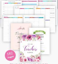 Teacher Planner Printable