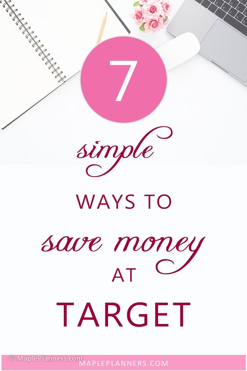 7 simple ways to save money at Target