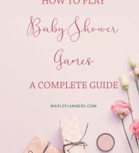 A complete guide to Baby Shower Games