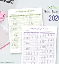 52 Week Money Saving Challenge 2020