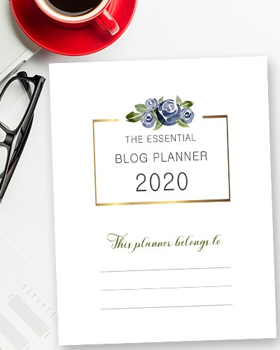 Download Blog Planner 2020