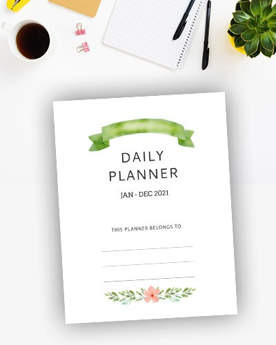 Download Daily Planner 2021